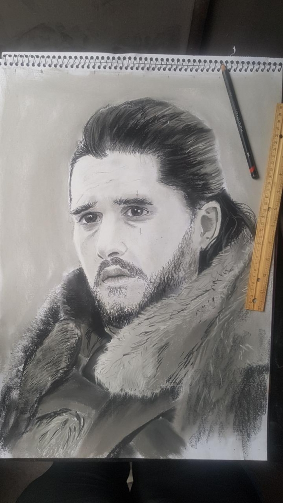 Kit Harington par Varoh